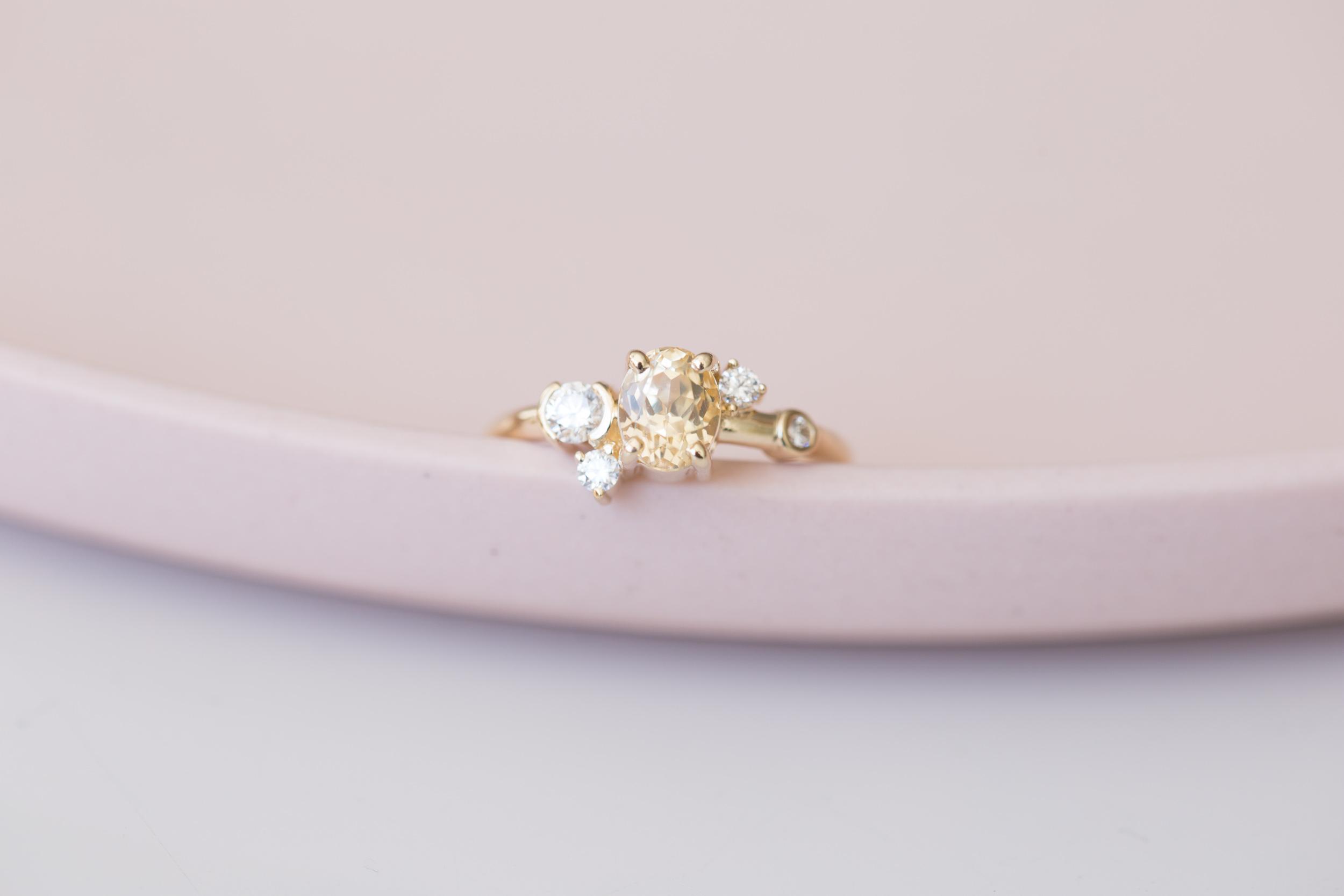 Lana + Max Sapphire Diamond Cluster Ring-1.jpg