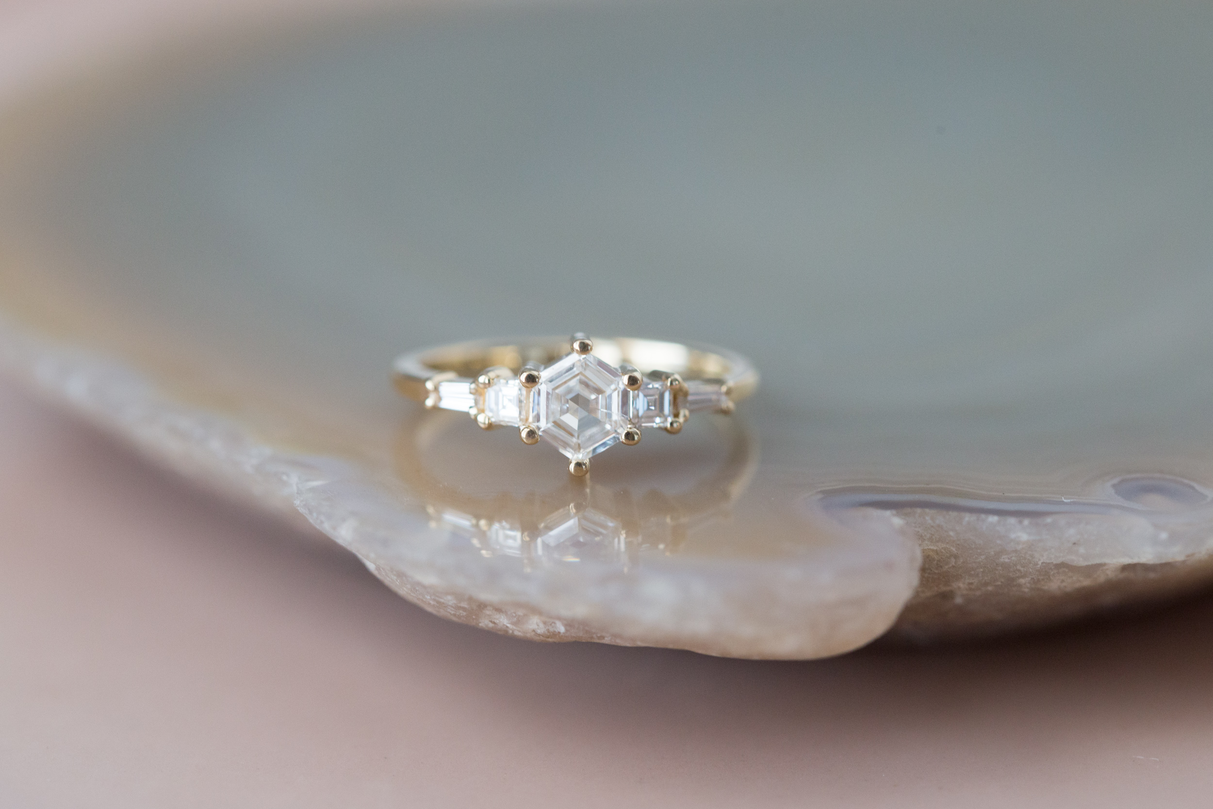 Mara + Dan Hexagon Diamond Step Cut Ring-5.jpg