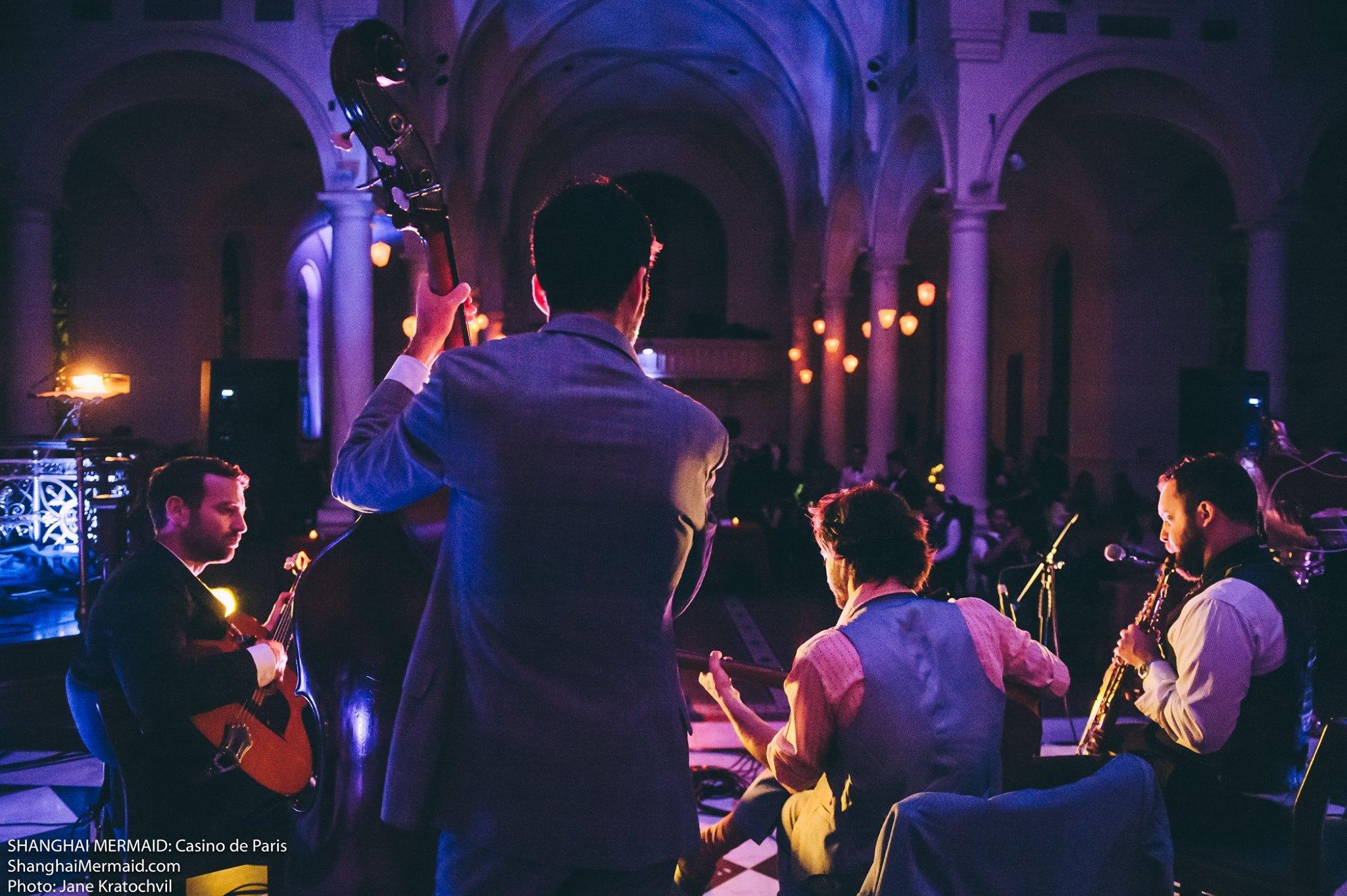 wedding jazz band concert hall