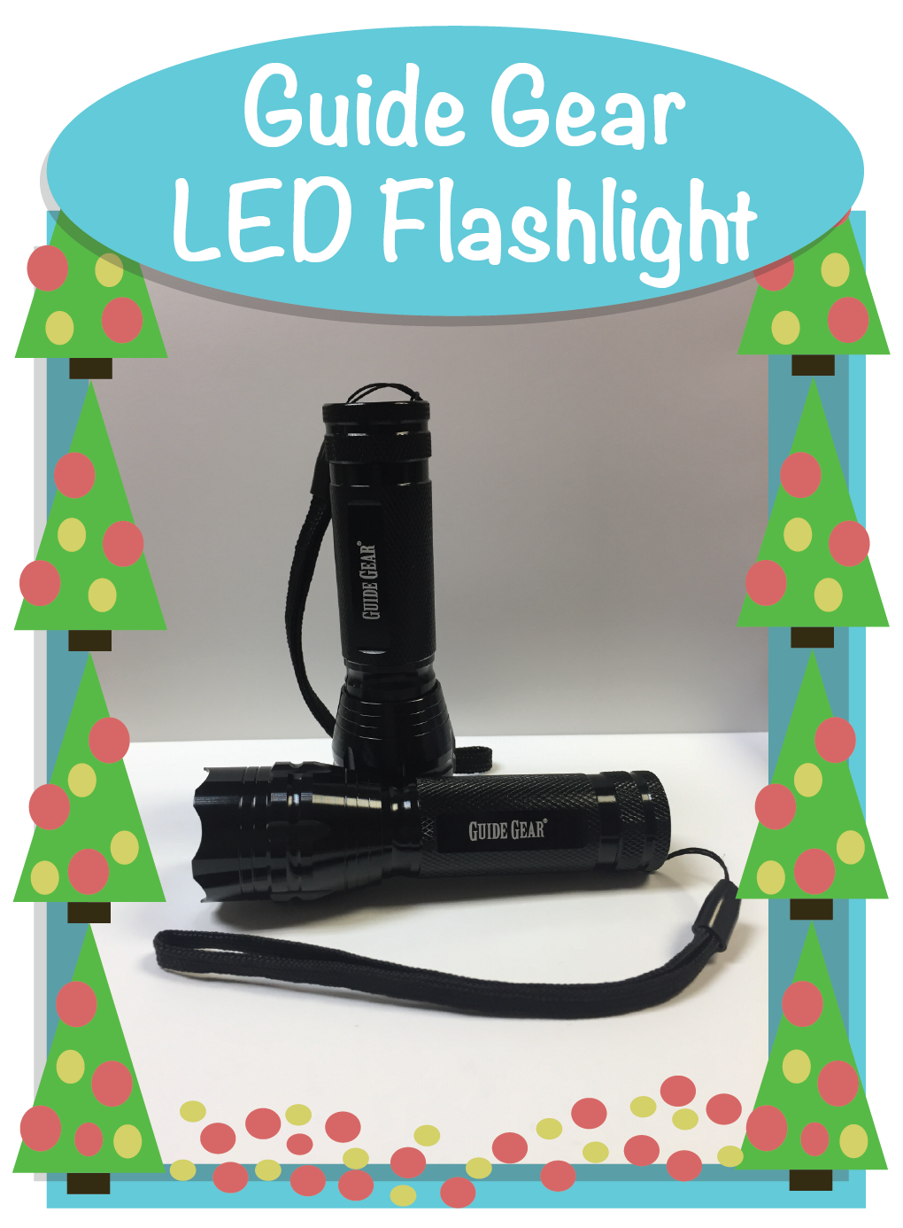 Guide Gear LED Flashlight.