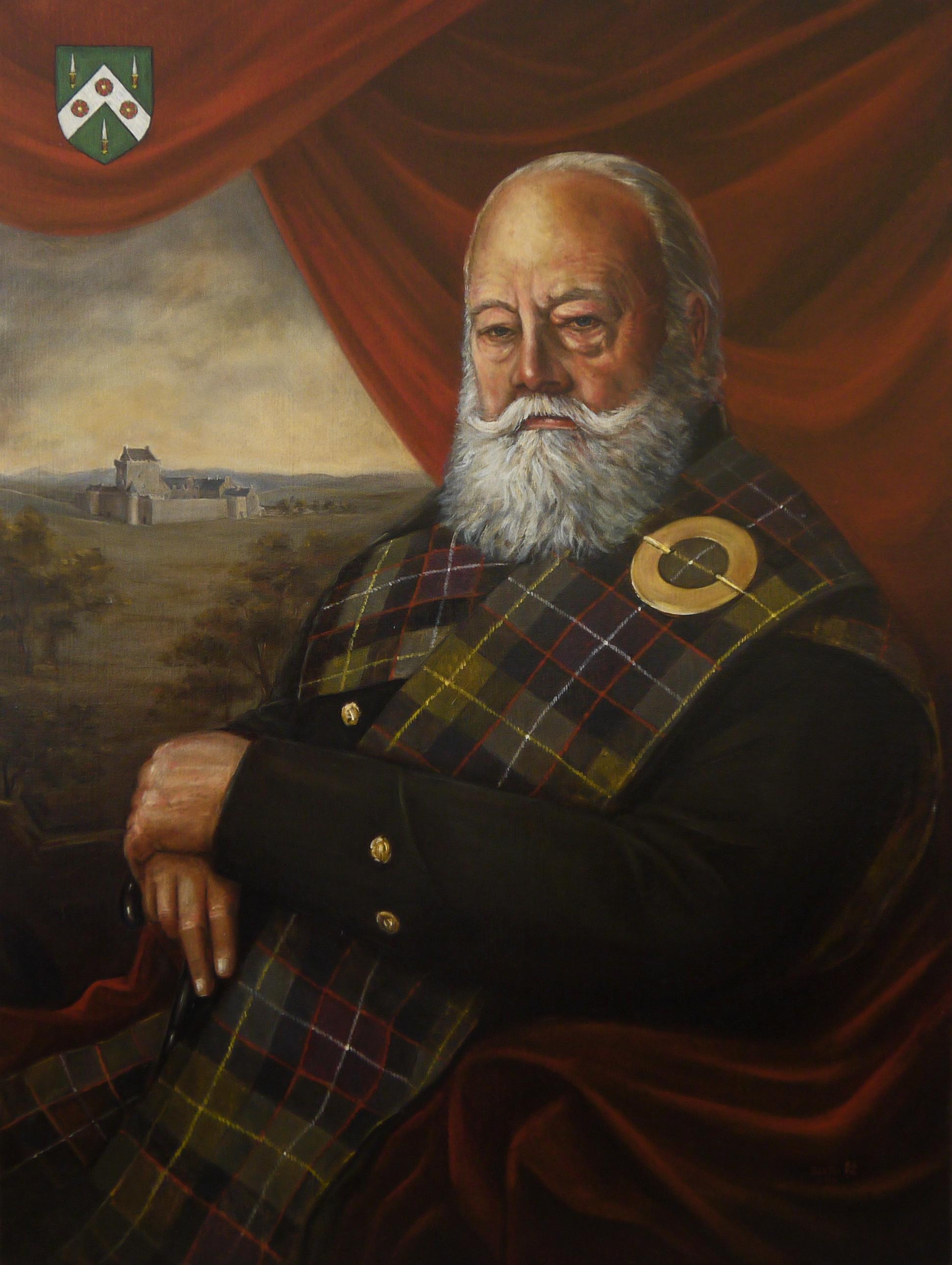 The Much Honoured Raymond Morris of Balgonie and Eddergoll
