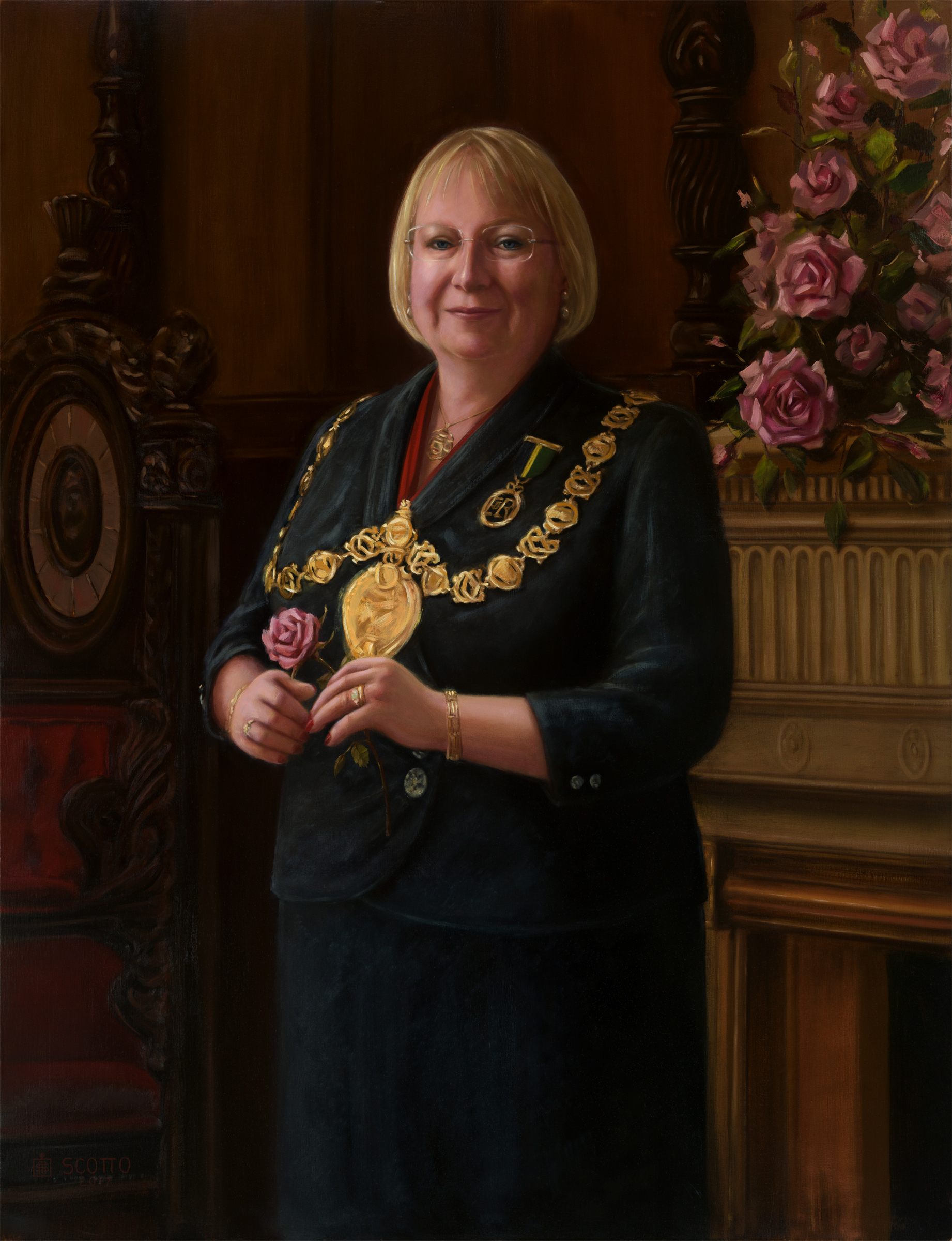 RUTH MALTMAN TD DL - MRS ALLAN LAPSLEY, DEACON CONVENER OF THE TRADES OF GLASGOW 2015-16