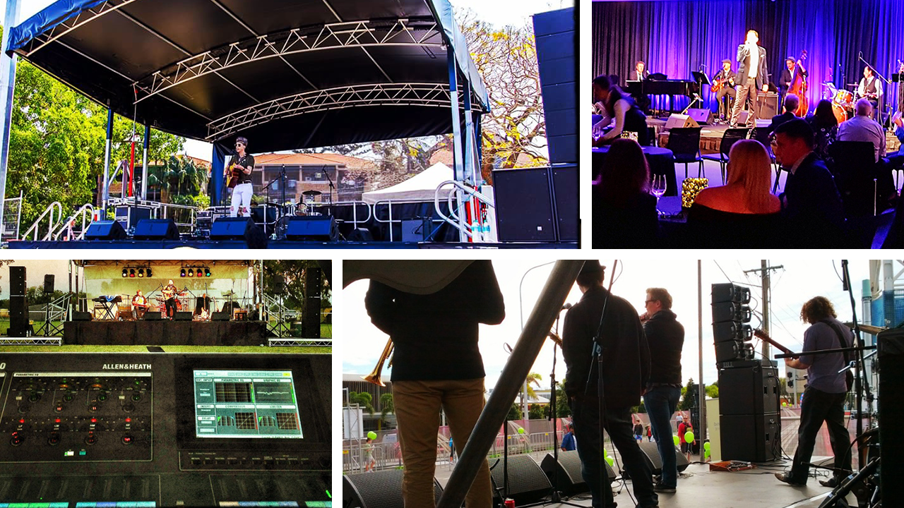 PA Systems - FESTIVALS | CONCERTS | CORPORATE EVENTS | MULTI-TRACK RECORDING