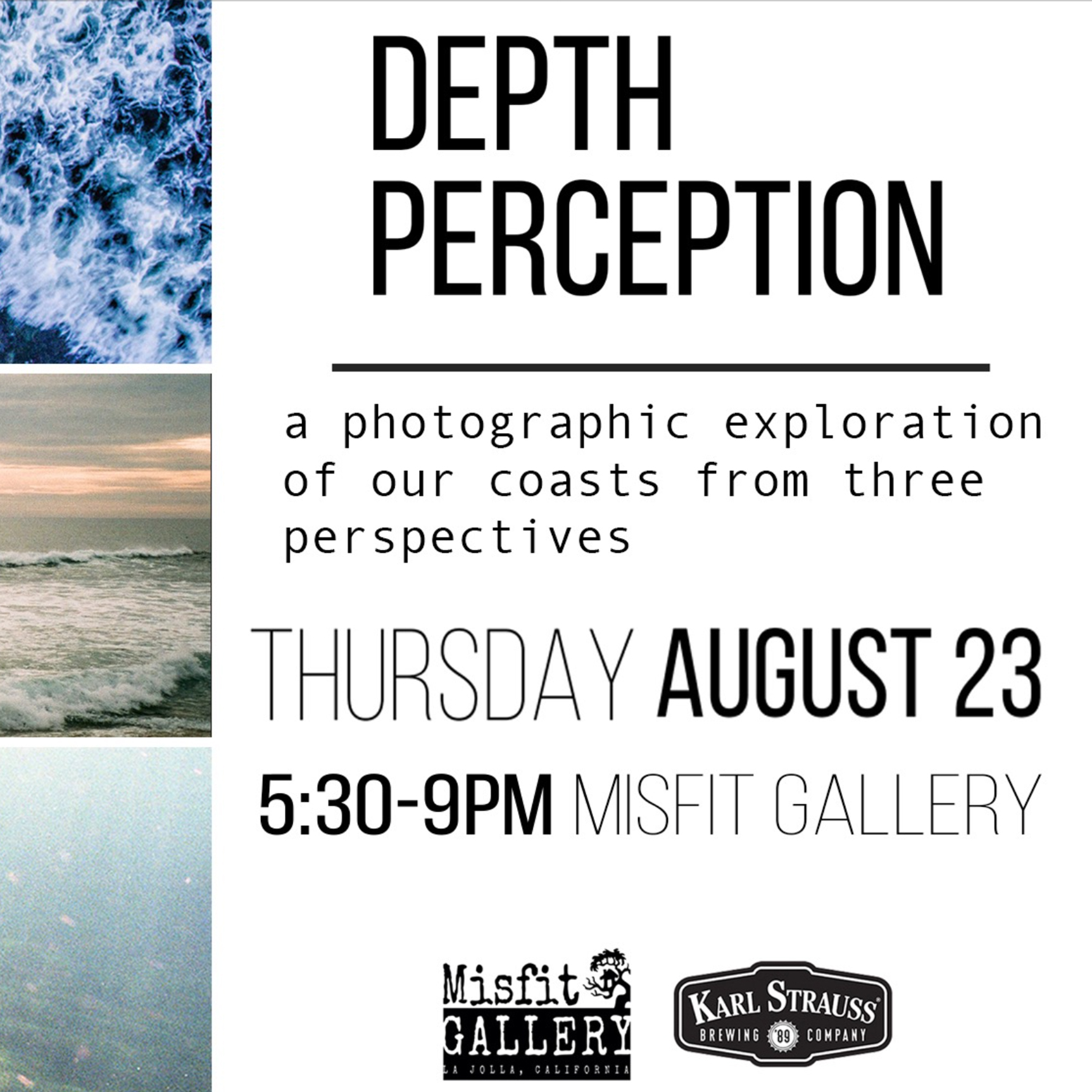 Group Show: Misfit Gallery, La Jolla, CA