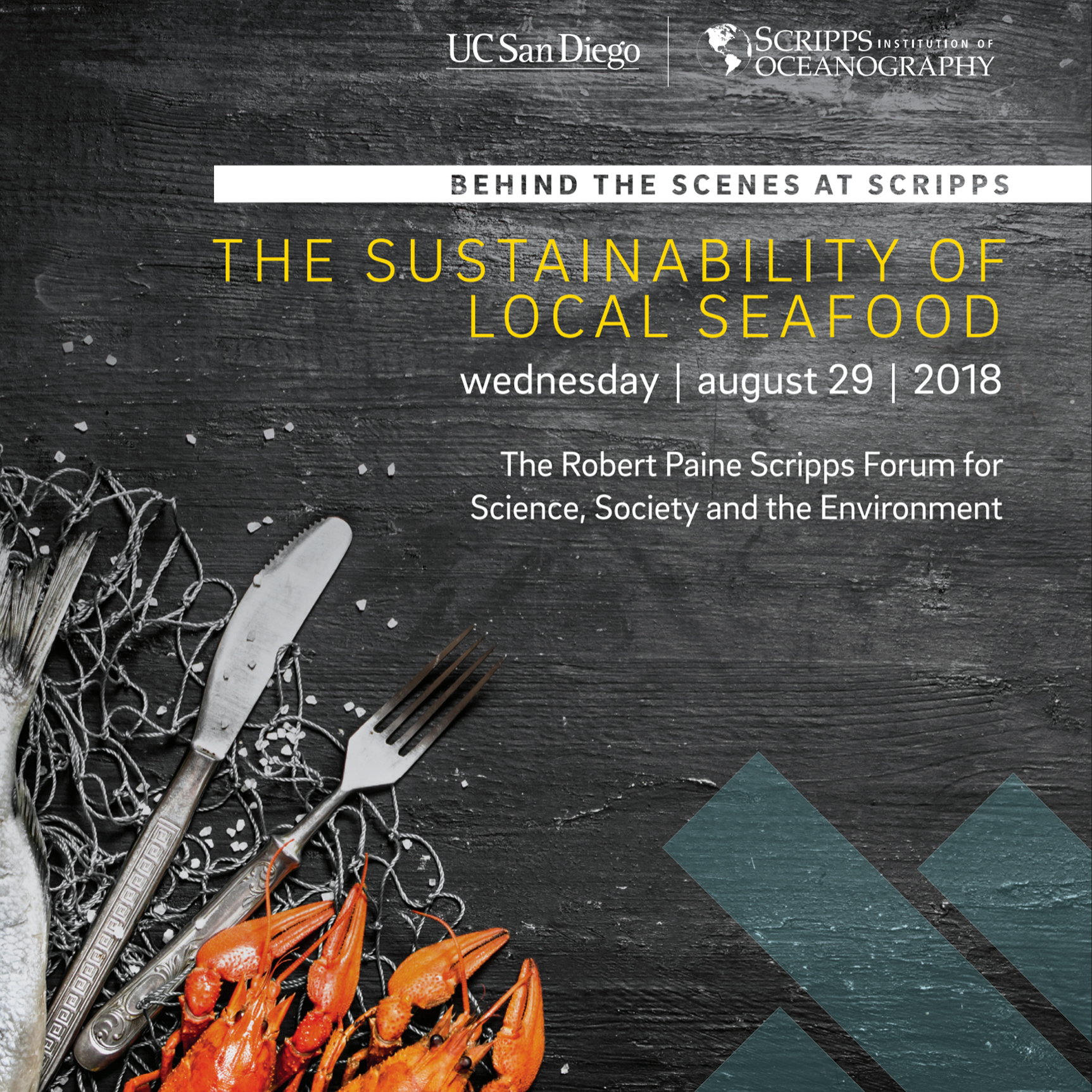 Panelist: Sustainability of Local Seafood Event