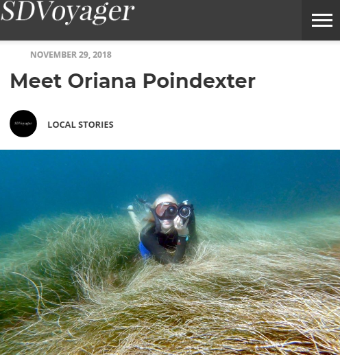 Interview: San Diego Voyager Magazine