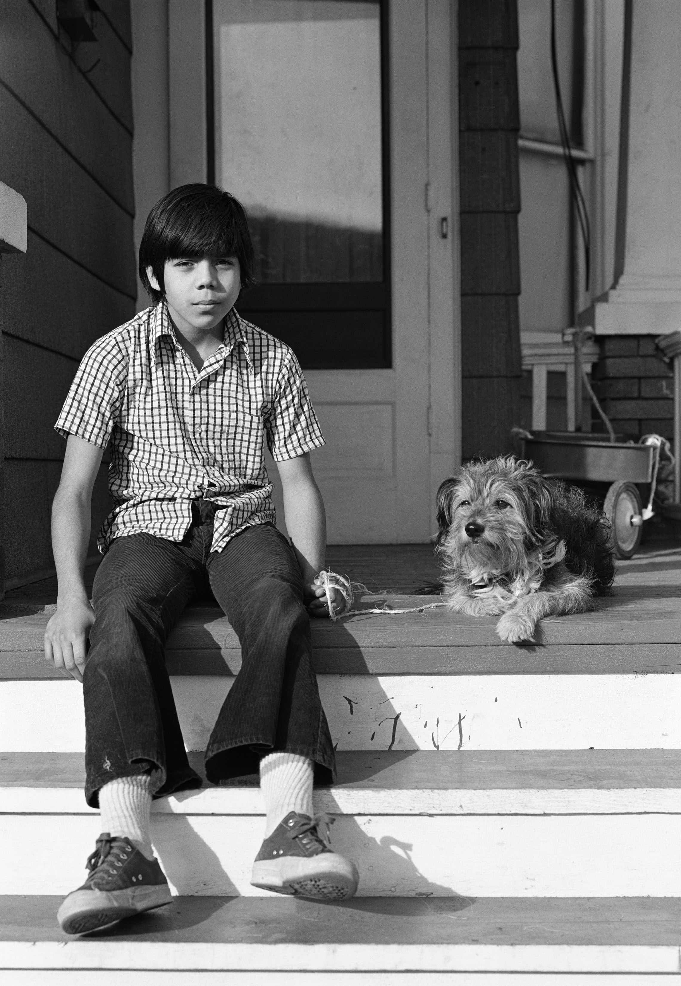 © Mark Maio Boy With His Dog Southside Milwaukke WI.JPG