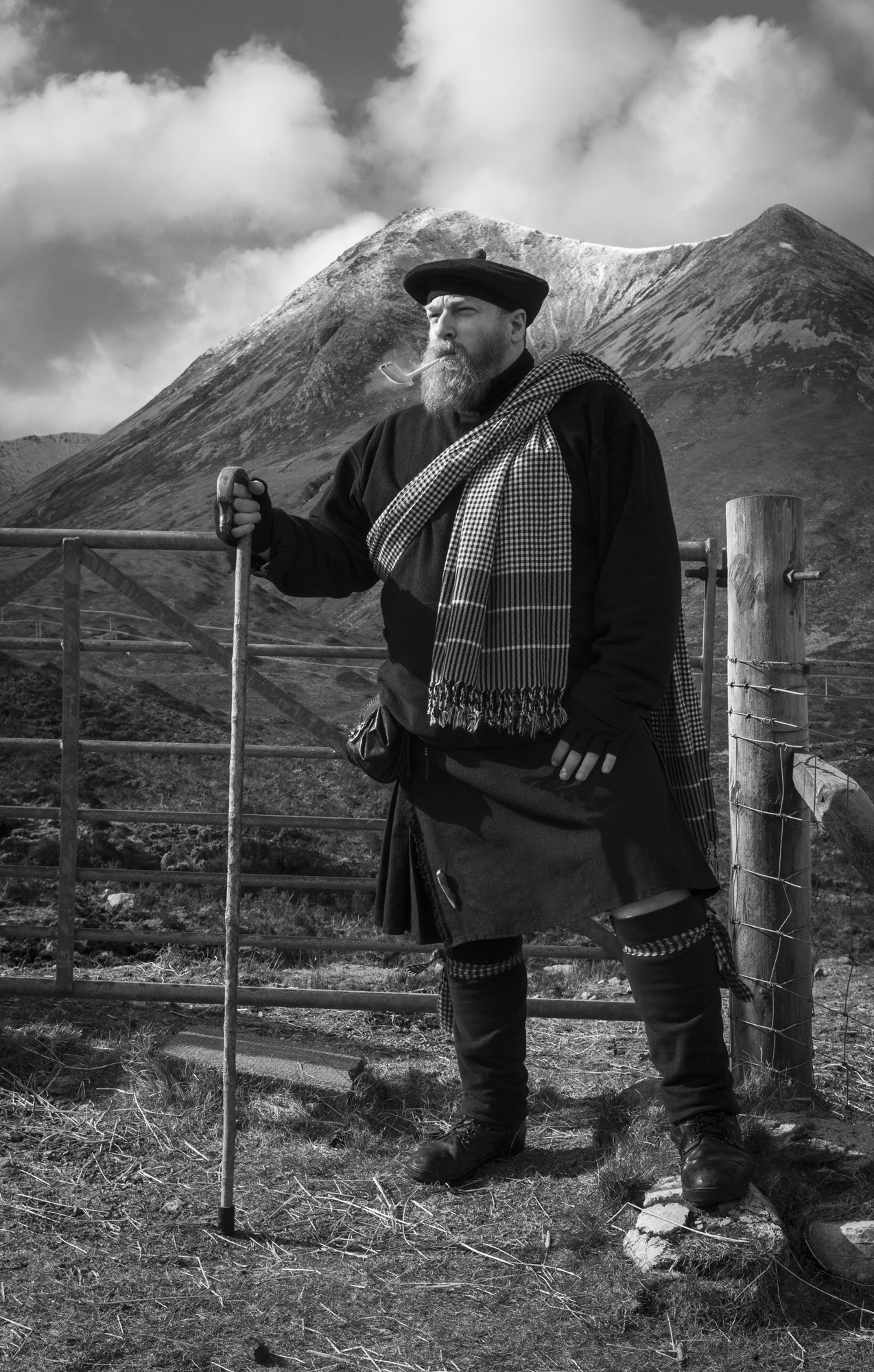 "© 2015 Mark Maio - ""Man About Skye"""