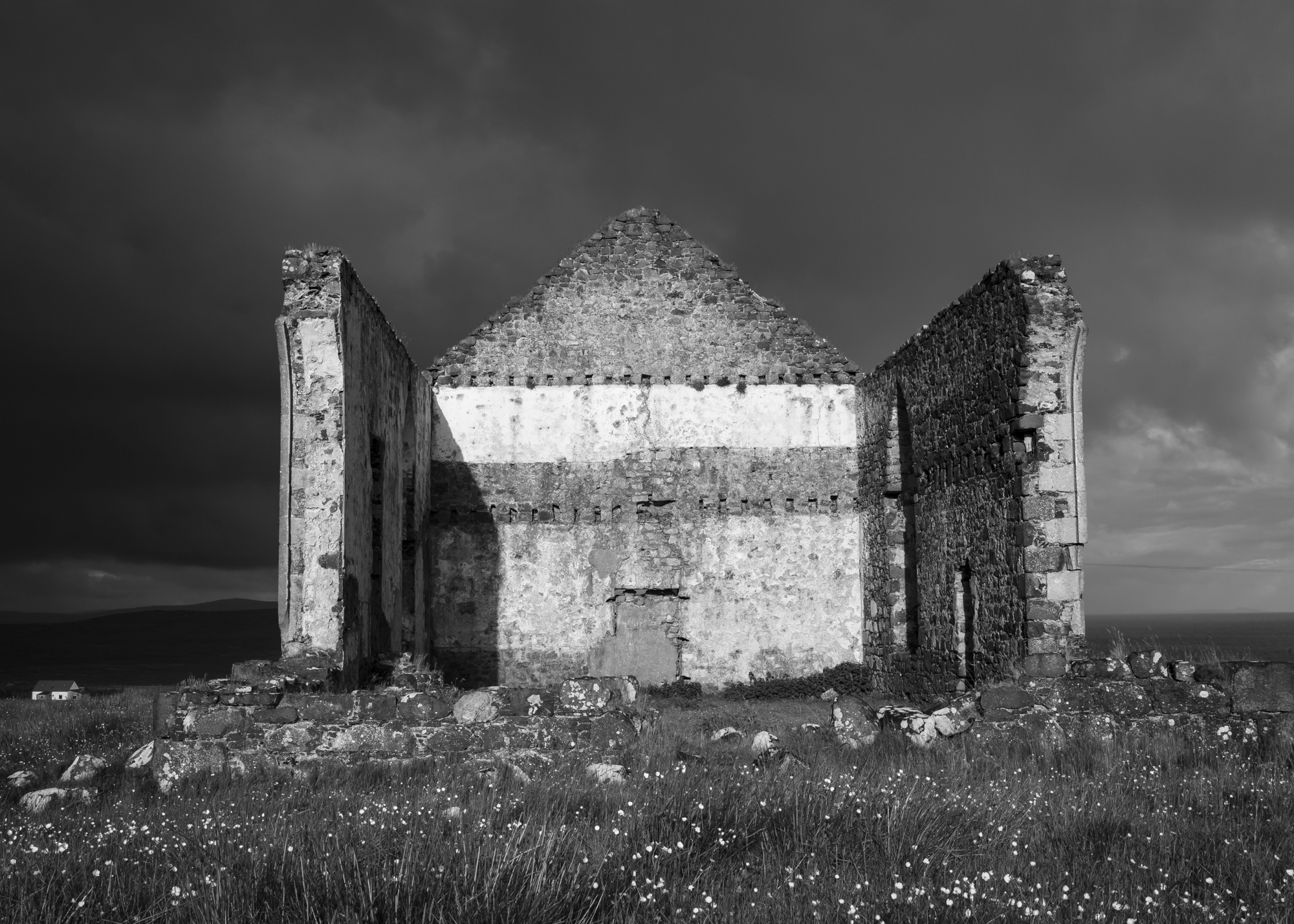 "© Mark Maio - ""Clearing Storm/Early Morning - Abandoned Church, Isle of Skye, Scotland"""