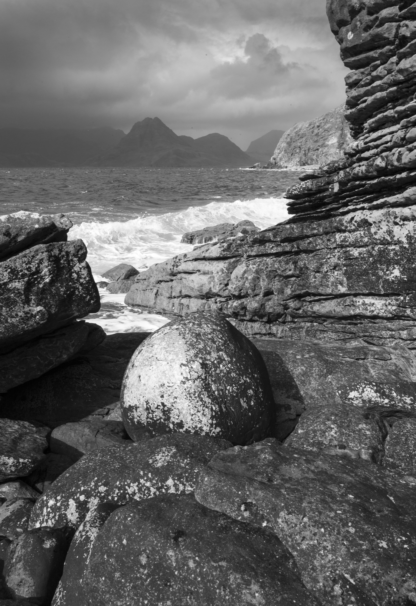 "© 2018 Mark Maio ""Elgol Beach, Isle of Skye, Scotland"""