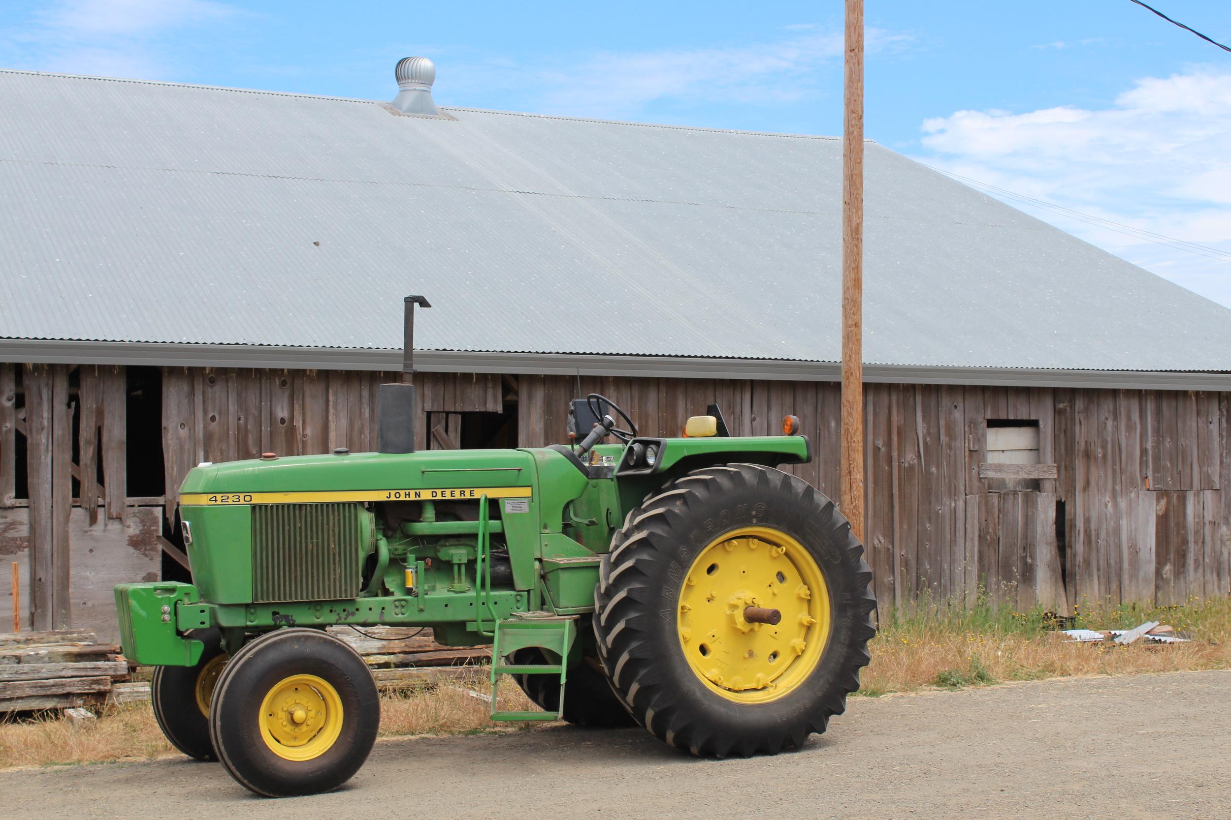 The new tractor: 1977 John Deere 4230