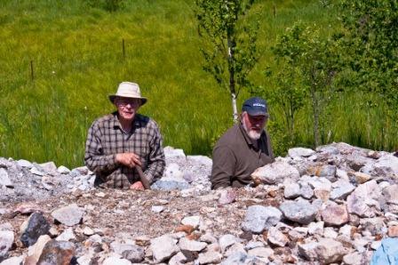Bruce West and Doug Dingledein