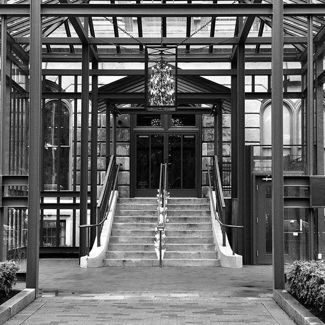 RH #boston #symmetry #blackandwhite #blackandwhitephotography #copleysquare #restorationhardware