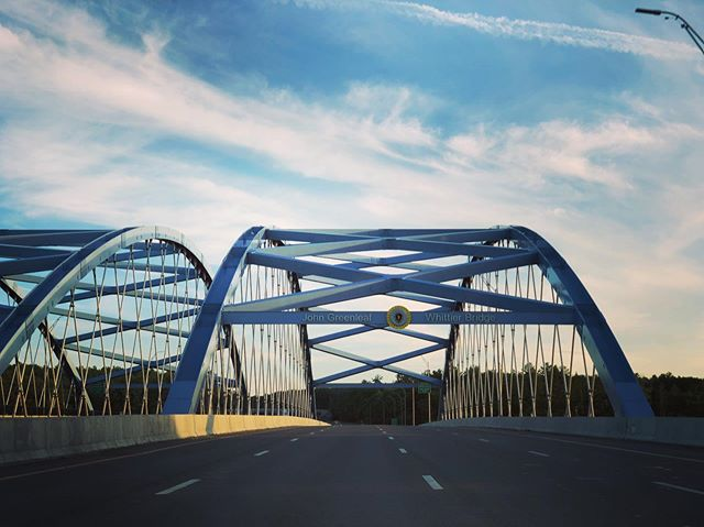 Still driving #roadtrip #maine #newhampshire #massachusetts #highway #lifeisahighway #homebound #ontheroadagain