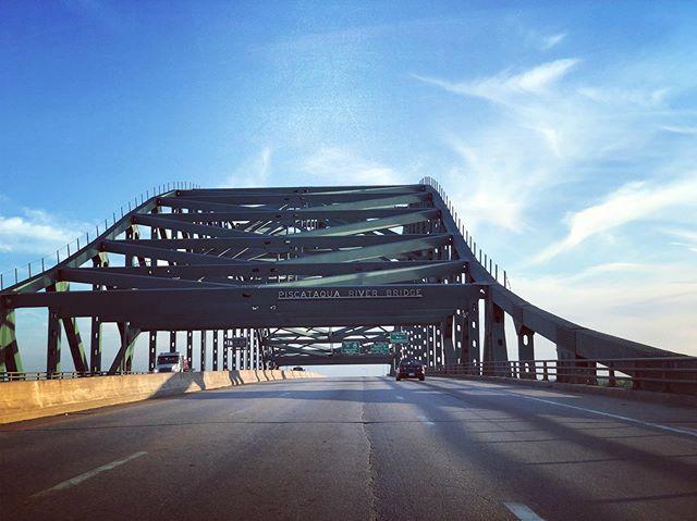 Driving headed home #homebound #bridge #highway #lifeisahighway #ontheroadagain