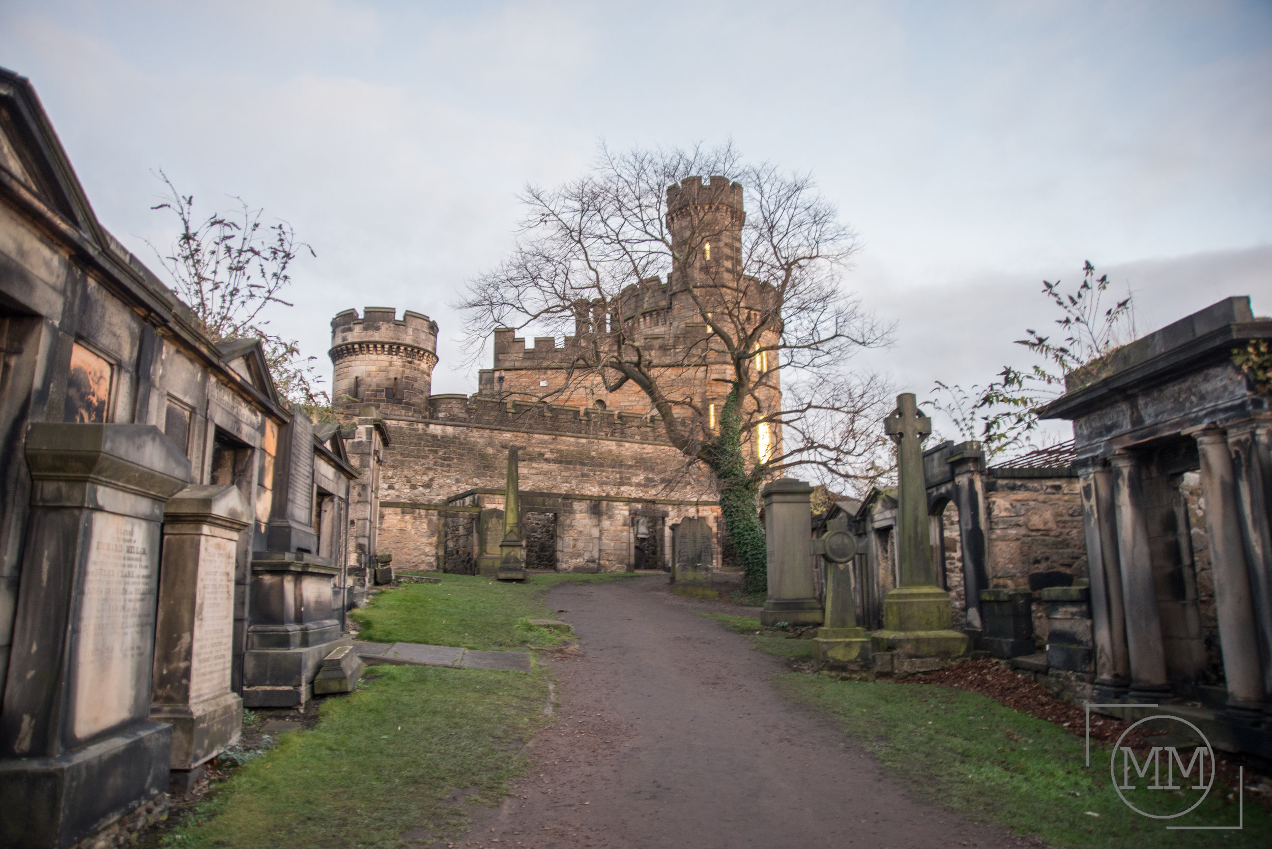 One more stop before town centre was this cool looking graveyard.