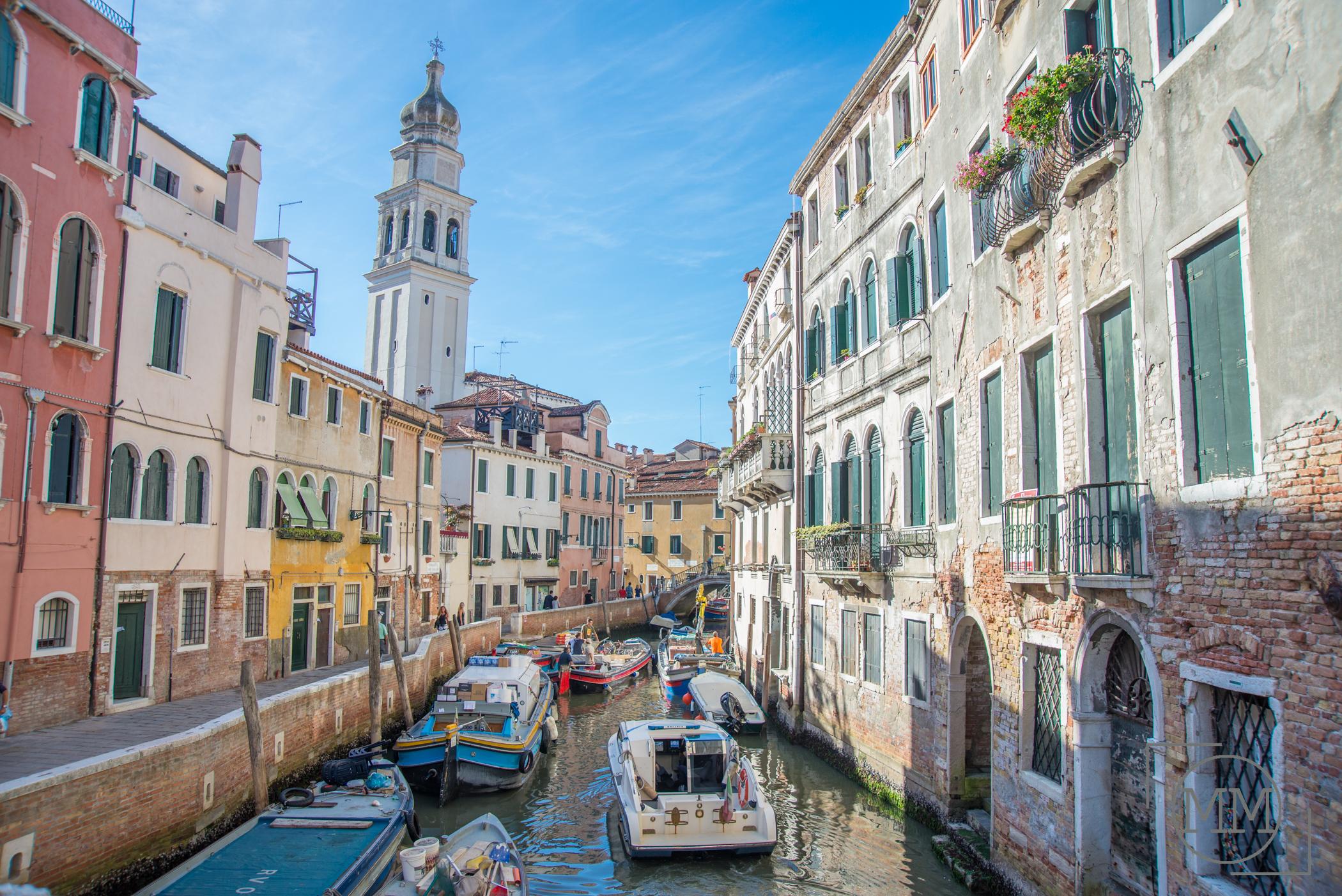 Traffic jam in Venice!