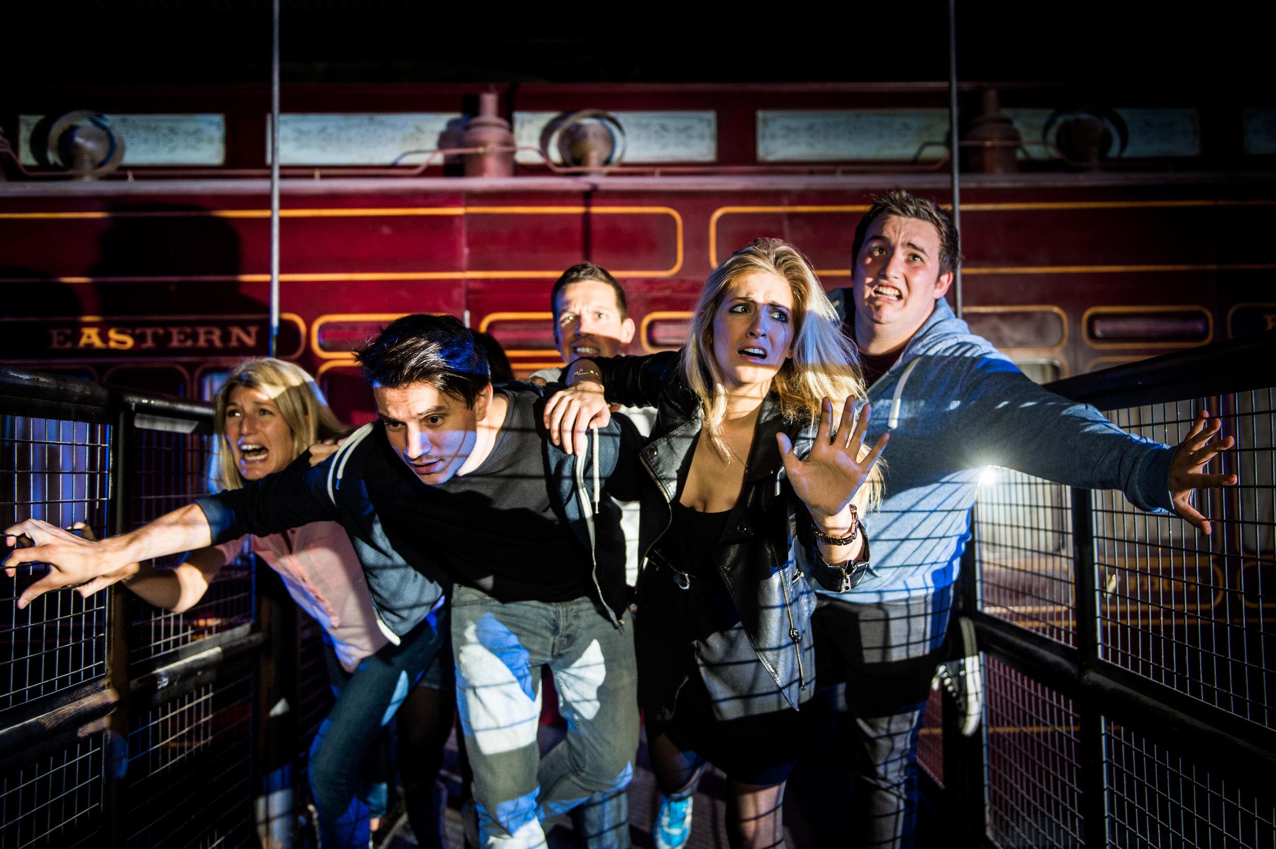 Derren's Brown Ghost Train