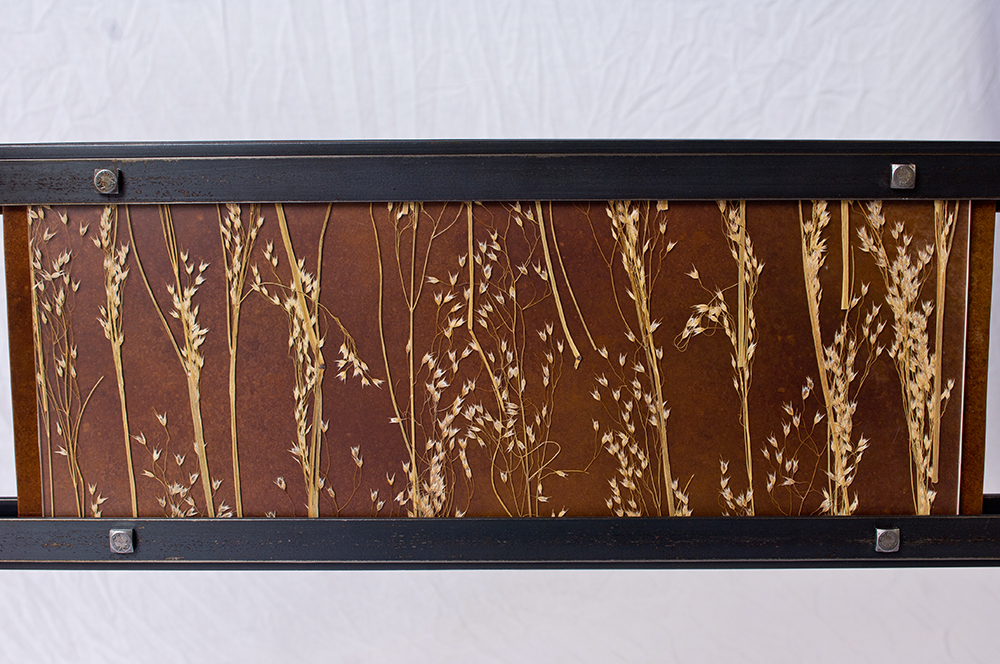 Meadow Inlay with copper backing