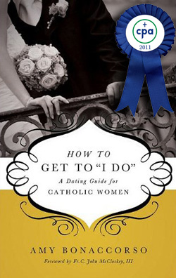 Click the book to learn more about Amy's work with Catholic singles.