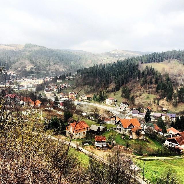 Somewhere in the hills and valleys between Belgrade, Serbia and Sarajevo, Bosnia & Herzegovina.