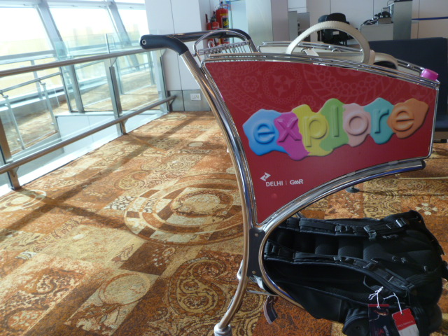 Just like almost everywhere outside of the United States, luggage carts are complimentary in New Delhi.