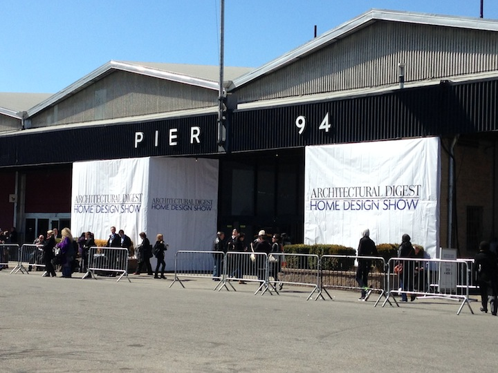 The Architectural Digest Home Design Show at Pier 94