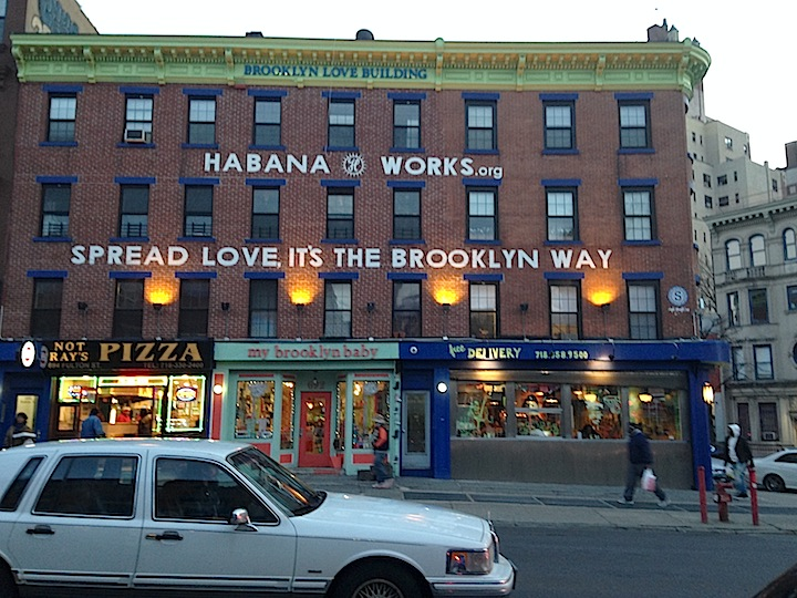 The Habana Outpost bought the right corner of this building making Not Ray's Pizza (on the left) move after having been on that spot for over 25 years.