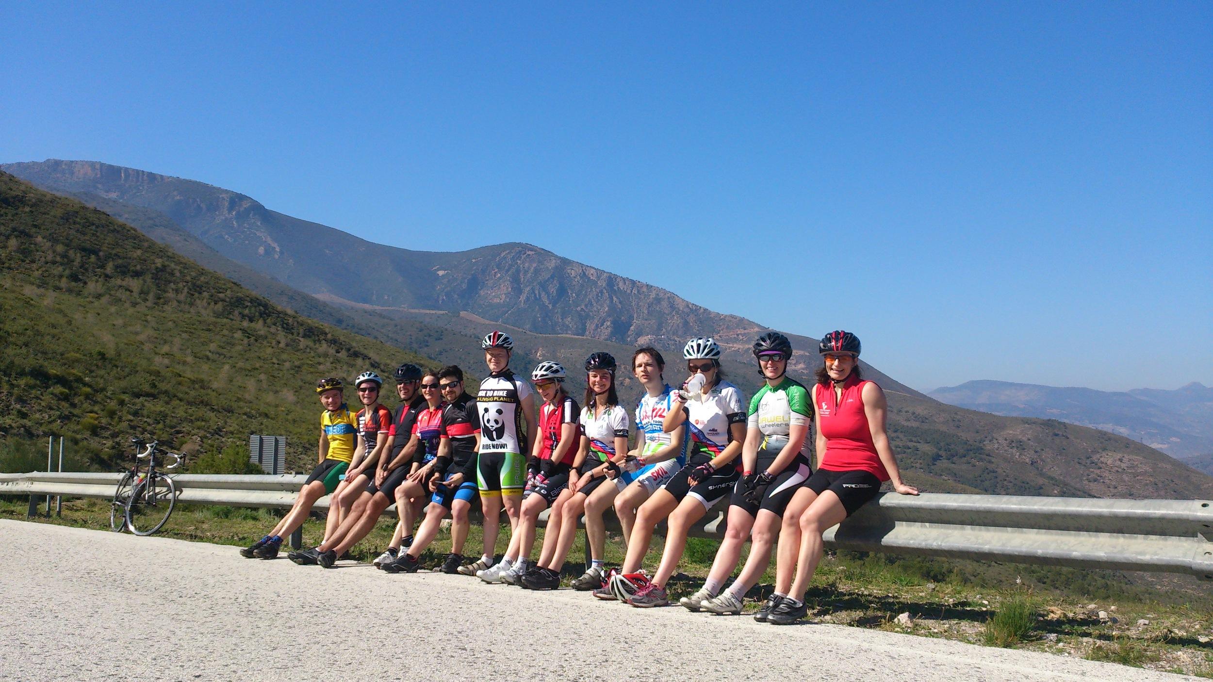 YOGA CYCLING HOLIDAY CYCLE VACATION SPAIN SIERRA NEVADA ANDALUSIA WINTER SPRING CYCLING BREAK YOGA ROAD CYCLING