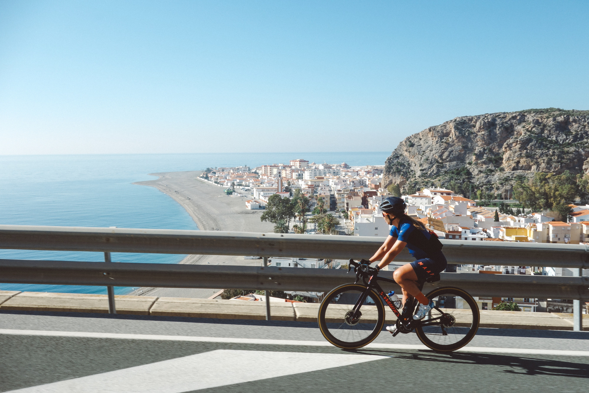 cycling yoga retreat vacation spain