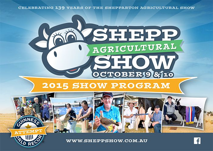 2015 event program cover.