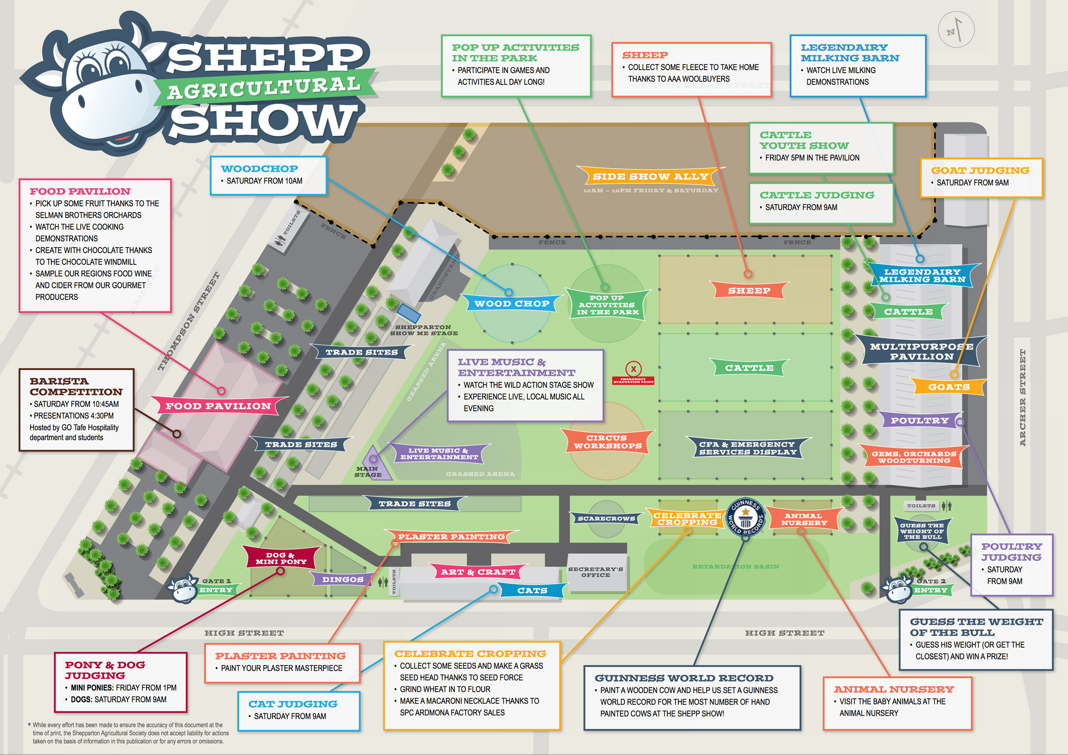2015 Showgrounds Event Map [click to enlarge]