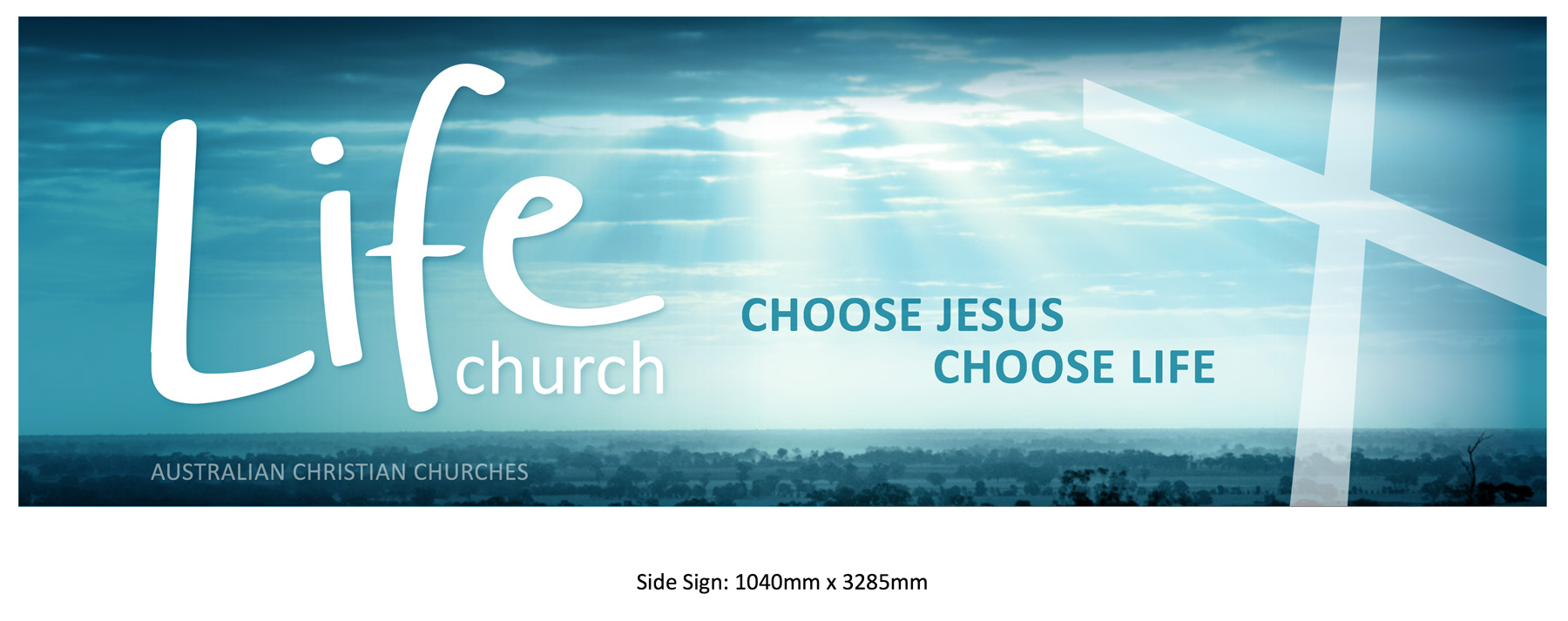 Sign #2 - DOWNLOAD PDF (1040x3285mm + 10mm Bleed)