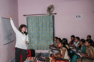 Taking astronomy to students of rural India and beyond - KATHERINE BLUNDELL, Professor of Astrophysics at Oxford