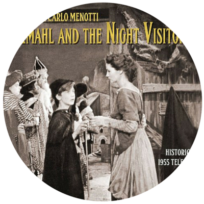 AMAHL AND THE NIGHT VISITORS DVD  - Watching the DVD has become a favourite Christmas Monday night tradition.