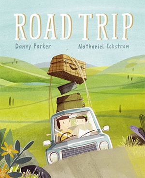 A dad and child on a road trip. Rhyming fun that's true to life.