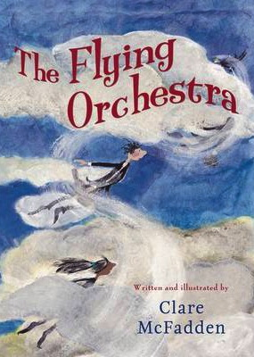 The flying orchestra comes when the angels seem to have been blown away...