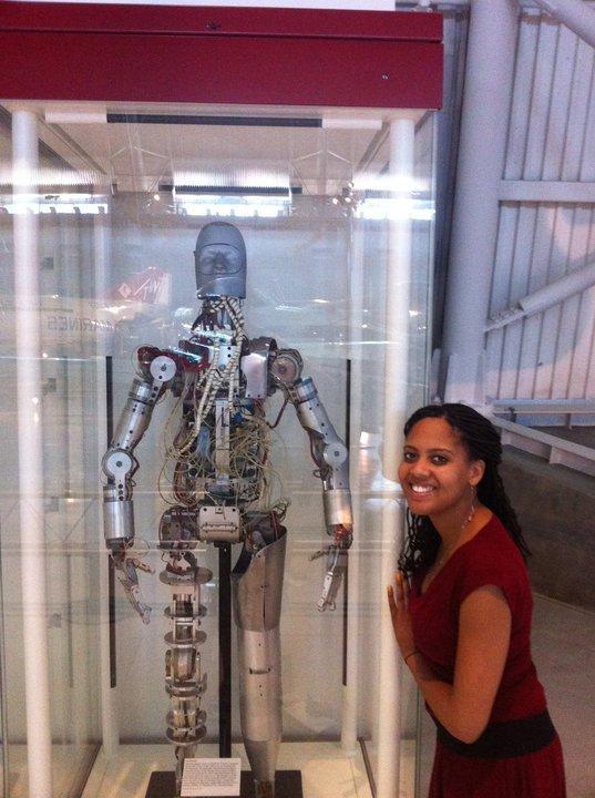 I admire this Robot Astronaut
