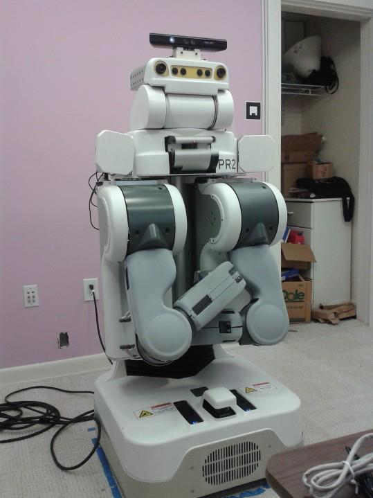 I did research with this robot