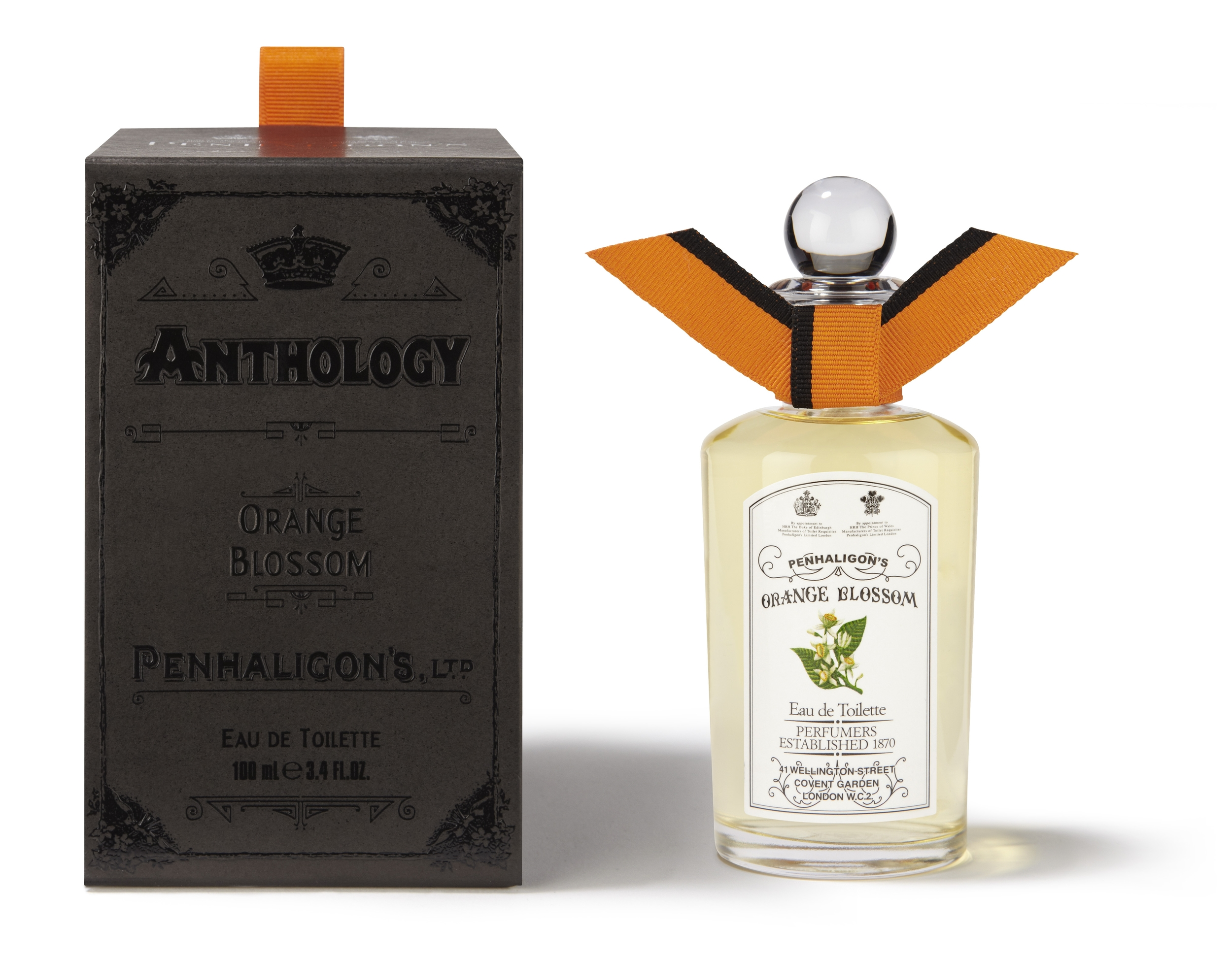Originally created in 1976, Orange Blossom has been transformed into a luminous honeyed floral. Lush with Calabrian orange and bergamot, tempered with Virginian cedar, rose and peach flower. Wearing Orange Blossom is like walking from shade into warm sunshine.  Orange Blossom 100ml Price: HK$1,620  Feel the love in the air!   www.penhaligons.com    Facebook Page: https://www.facebook.com/PenhaligonsHongKong