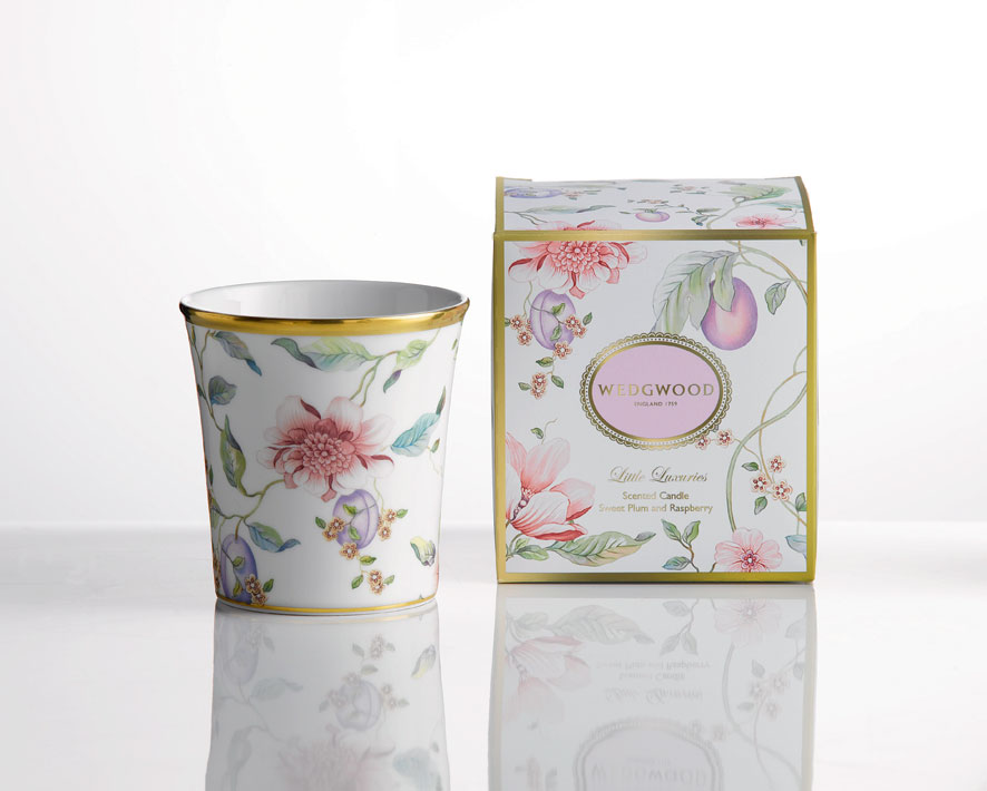 Sweet Plum Scented Candle