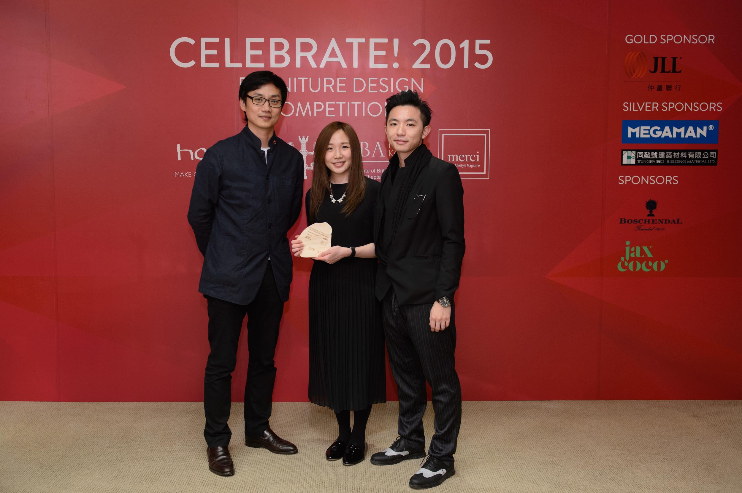 Trophy Presentation - High Commendation for Design - Yuan Chair