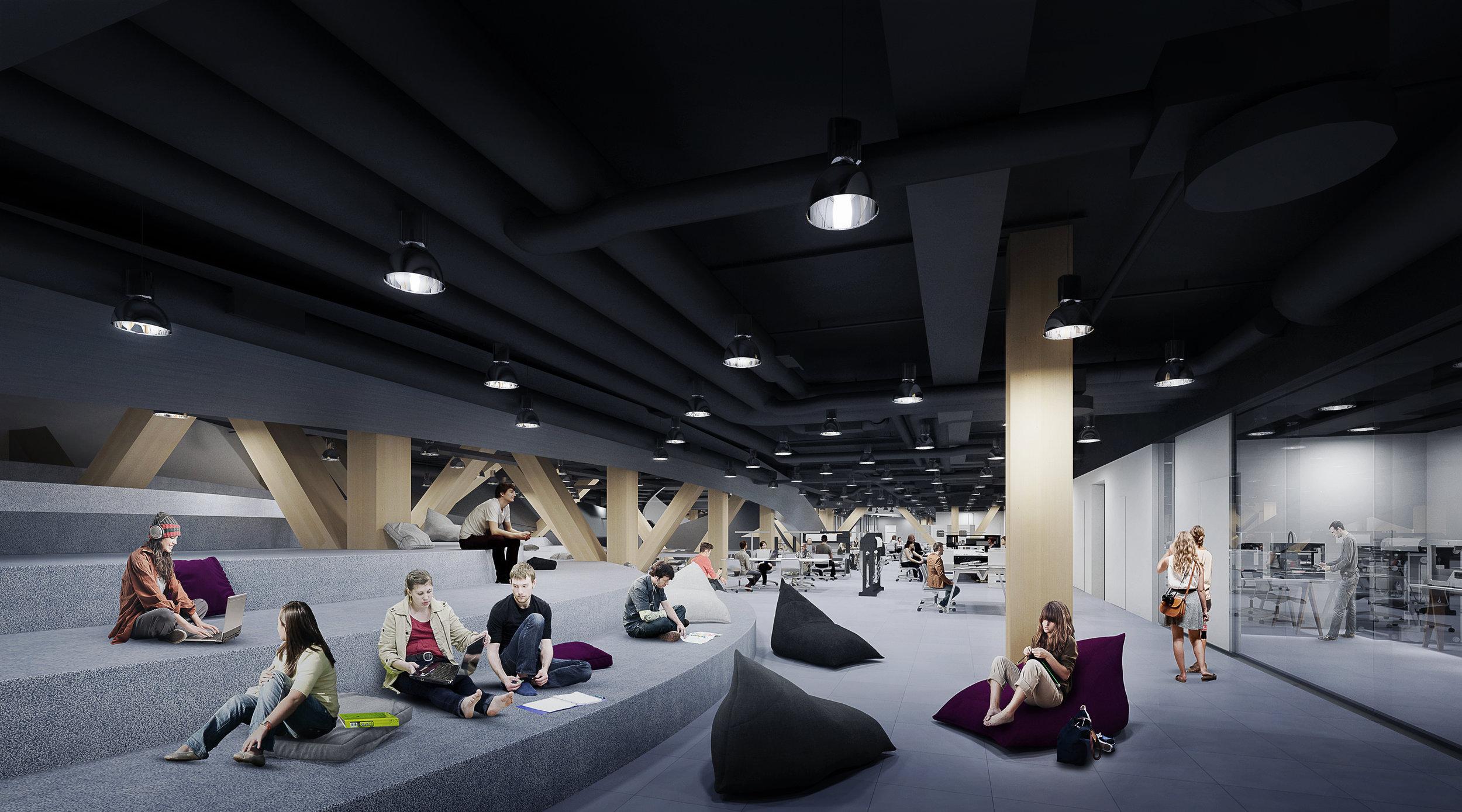 Helsinki Central Library by ALA - 1st floor interior 2016.jpg