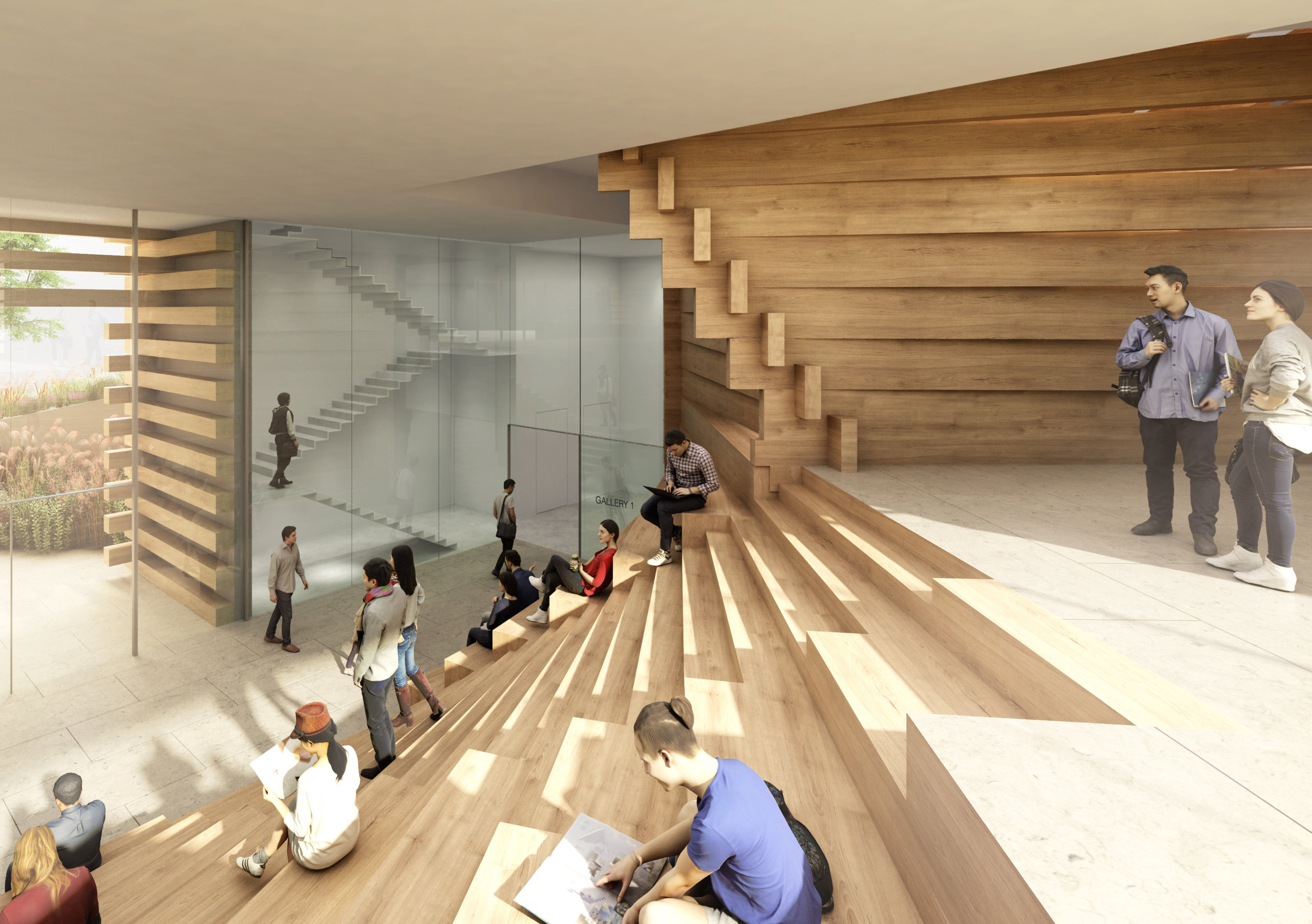 OMM, courtesy of Kengo Kuma and Associates(KKAA)