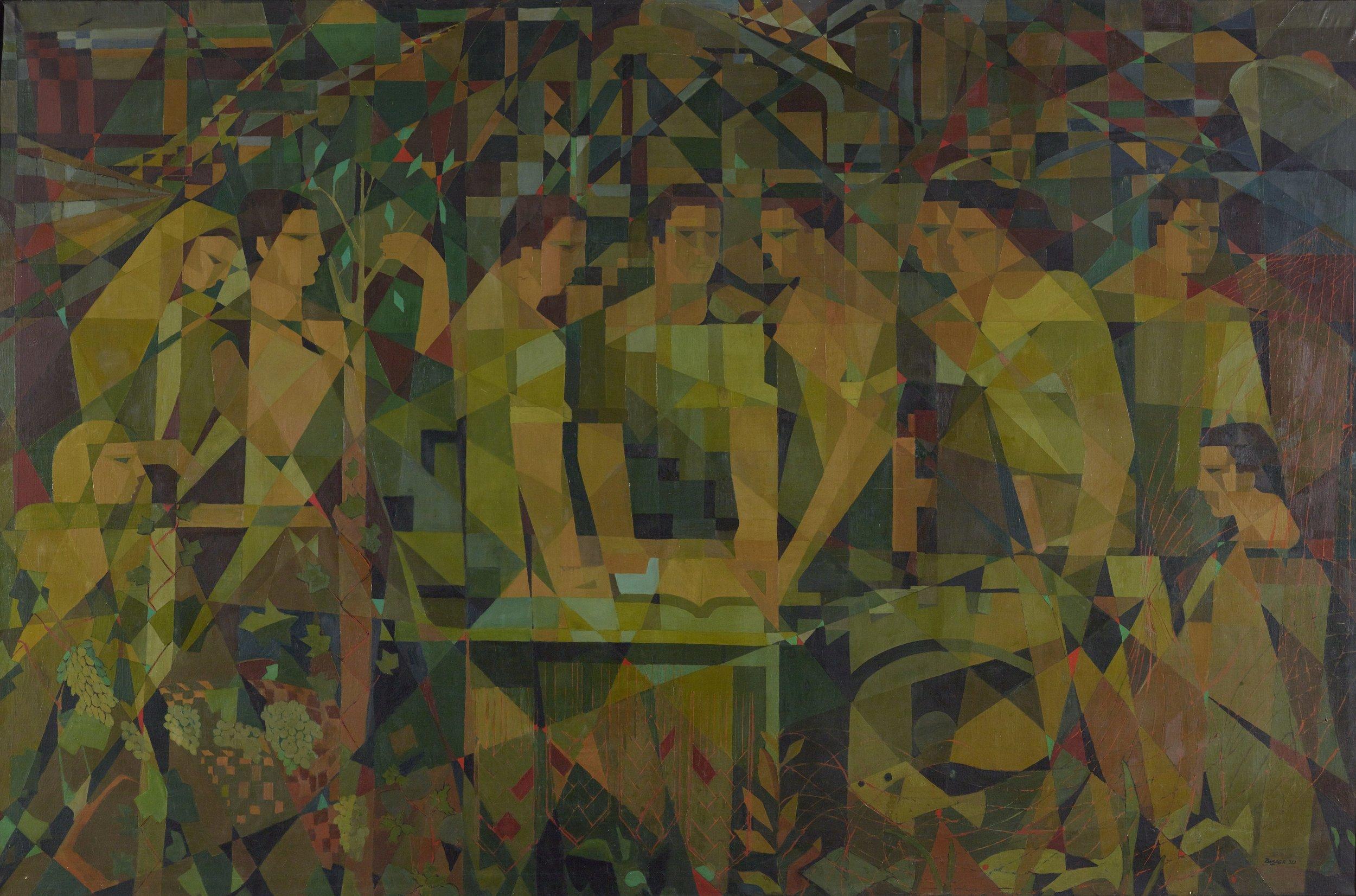 Ferruh Başağa, Toplum ve İşbirliği 1953,