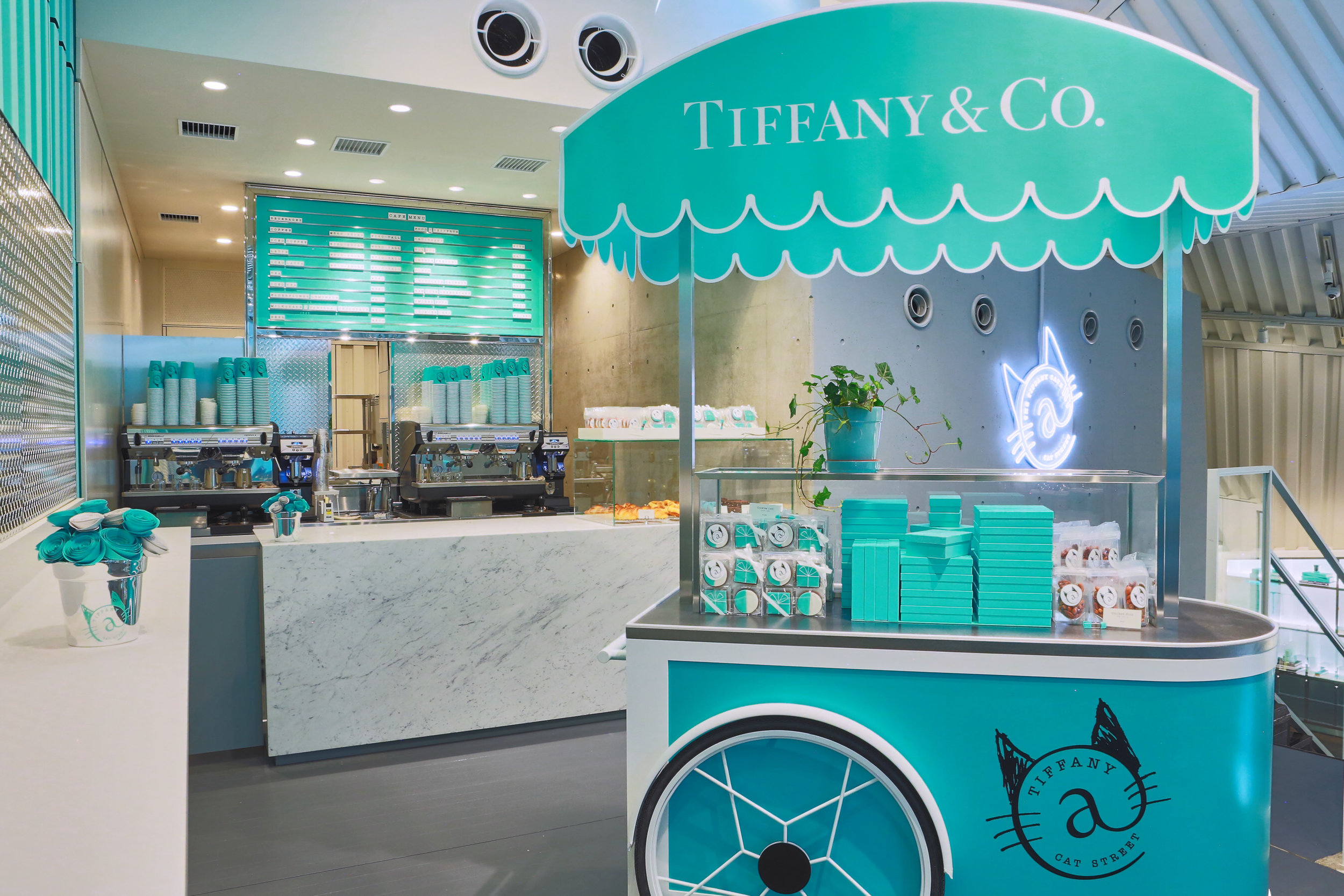 The First Tiffany Cafe in Japan