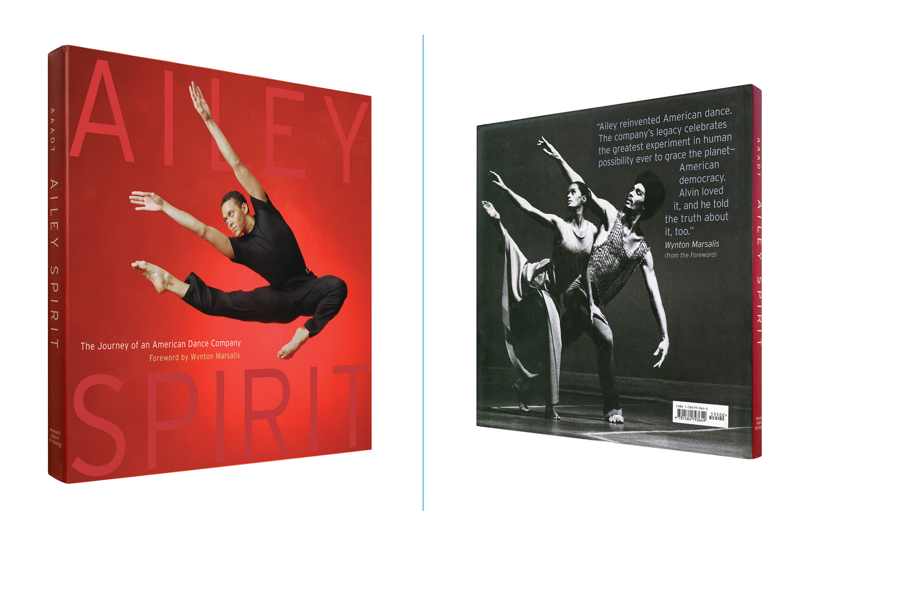 Ailey Spirit -  10.25 X 9.875 in., 168 pg., hardcover with jacket. Design; Galen Smith // Publisher; Abrams Books