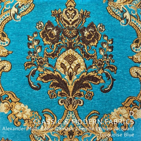 Alexander Multi Color Classic Damask