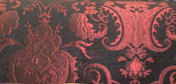Red and Black Standard Chenille