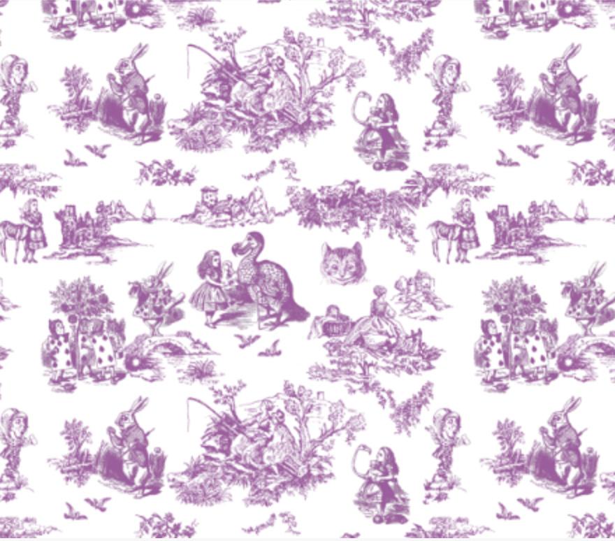 Alice Toile lilac